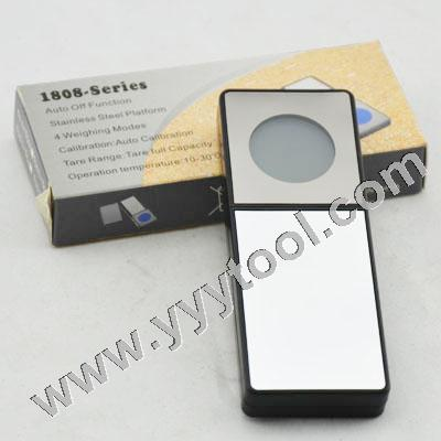 Mirror Mini with round LCD Pocket Scale