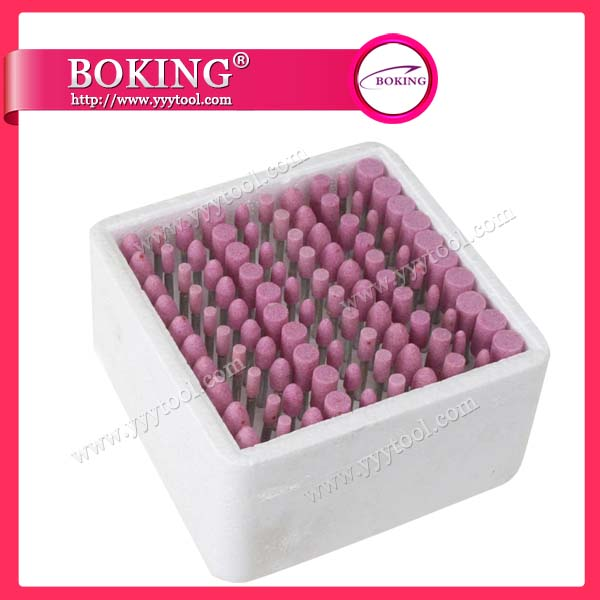 Mounted Stone Burs Set of 100 PCS