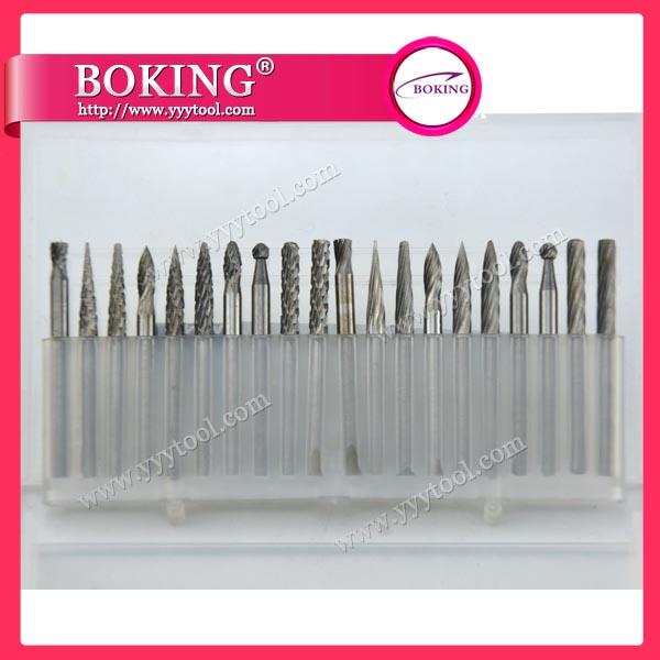¢3x¢3mm Tungsten Carbide Burs Set