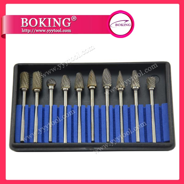¢2.34x¢6mm Tungsten Carbide Burs Set