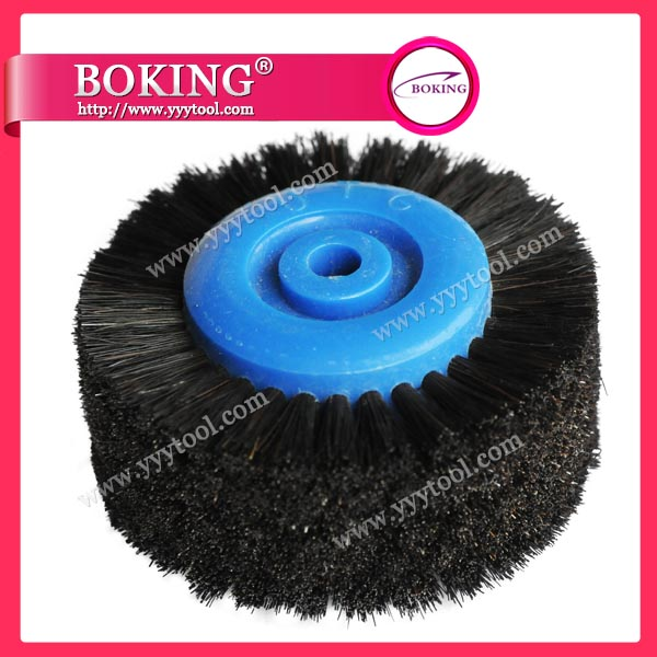 Moulded Plastic Centre 6 Row Brush