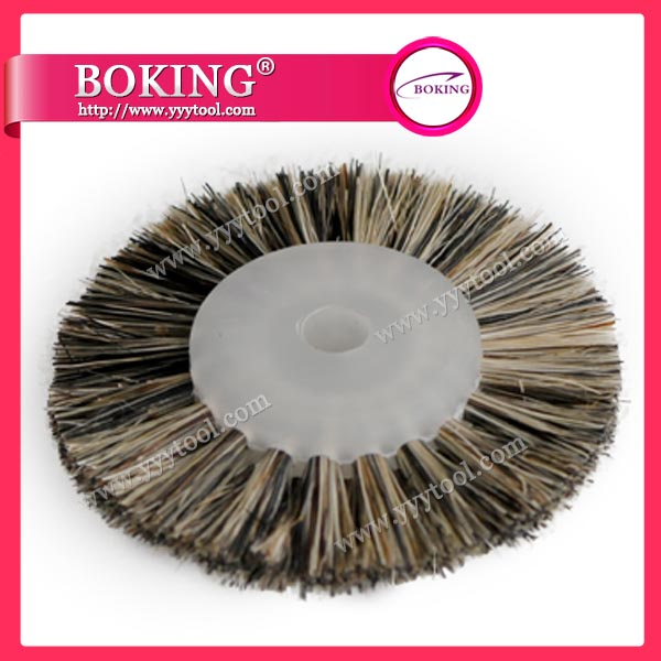 Moulded Plastic Centre 2 Row Brush