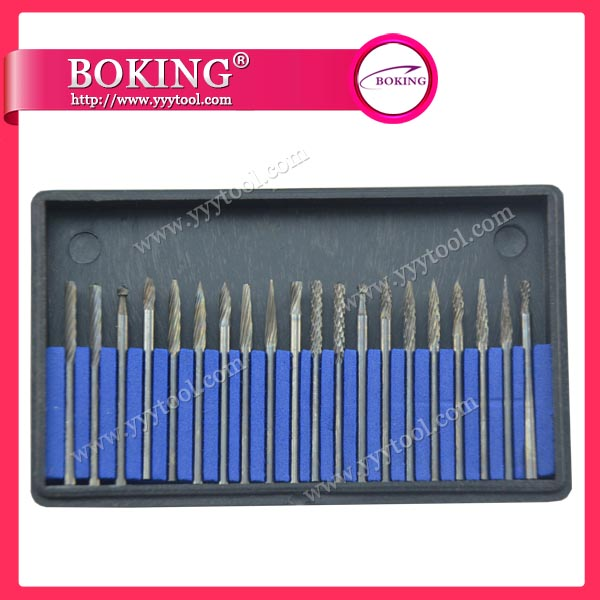 ¢2.34X¢2.34mm  Tungsten Carbide Burs Set